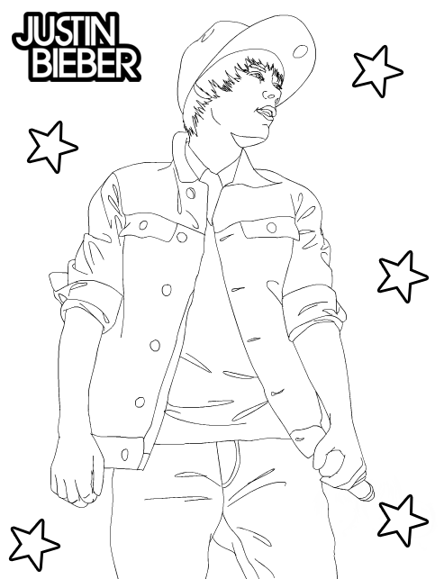 justin bieber coloring pages 2013 - photo#30