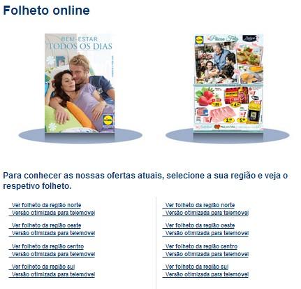 Novos folhetos   LIDL   online