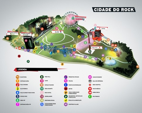 bela vista lisboa mapa Mapa da Cidade do Rock no Parque da Bela Vista (Lisboa) – INFO  bela vista lisboa mapa