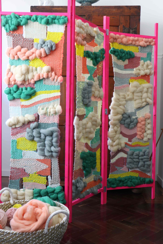weaving-biombo