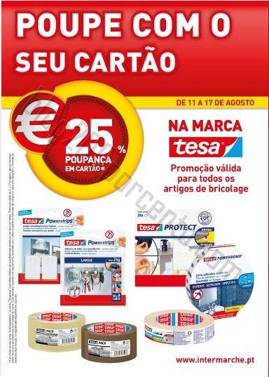 Novo Folheto INTERMARCHÉ Promoções de 11 a 17 agosto - Tesa