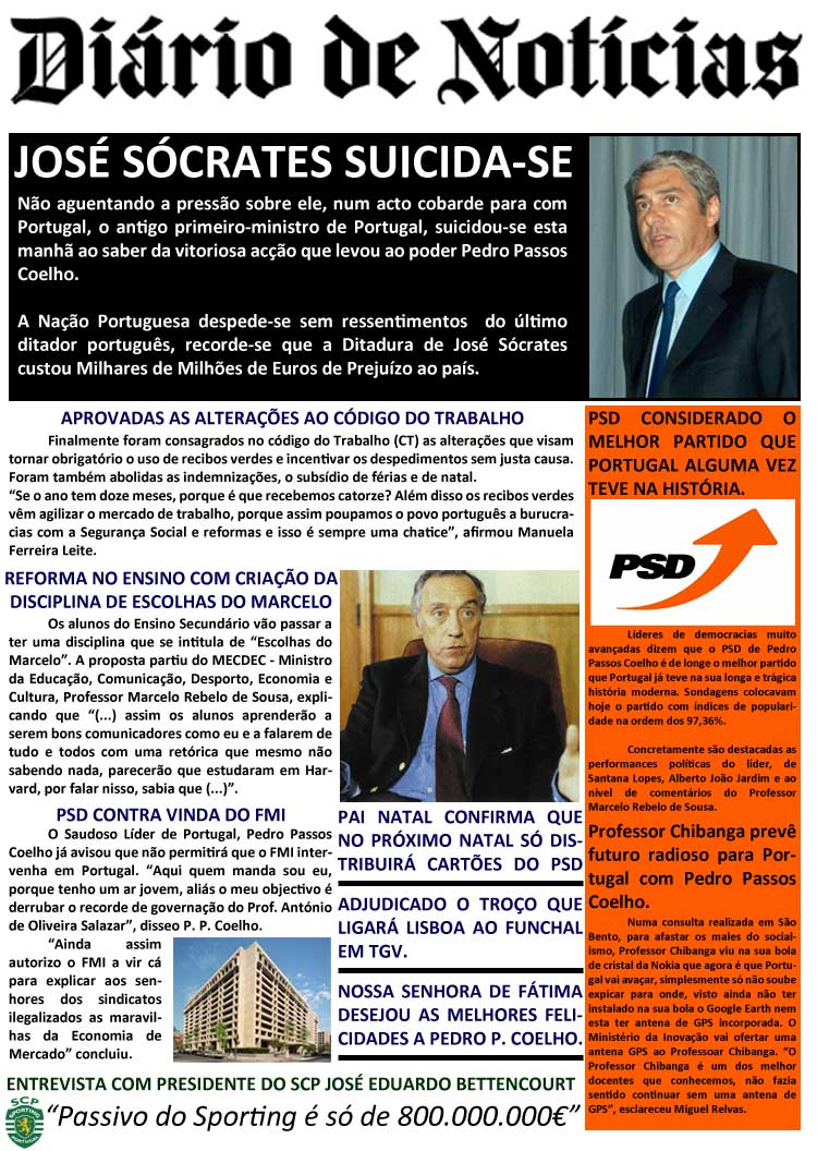 Diário de Notícias Versão PSD