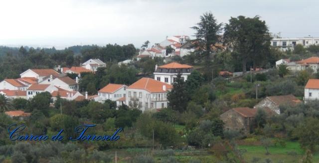 Vista parcial da antiga Vila de Torroselo
