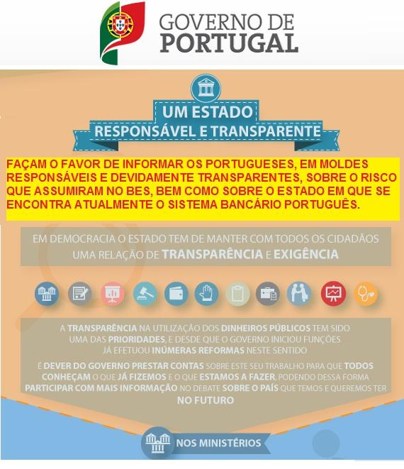 banco bes novo banco governo banco de portugal