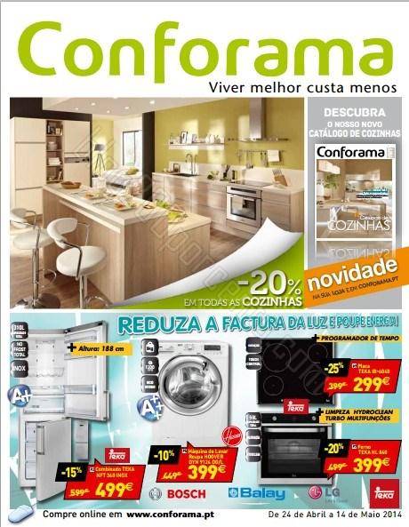 Novo folheto | CONFORAMA | de 24 abril a 14 maio - Reduza e Poupe