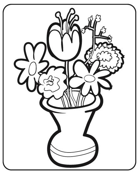 Flores Primavera para Colorir - Desenhos de Primavera para Imprimir ...