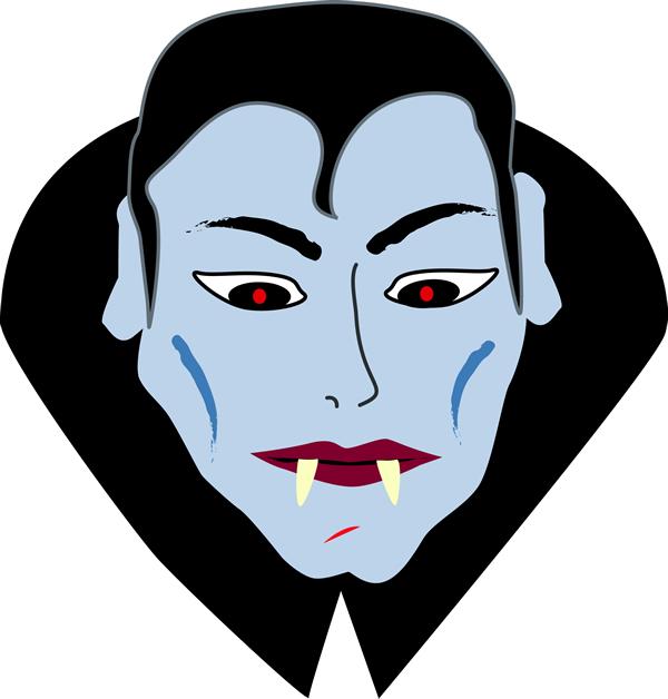 Mascara De Vampiro Para Imprimir   Dracula Para Halloween Dia Das