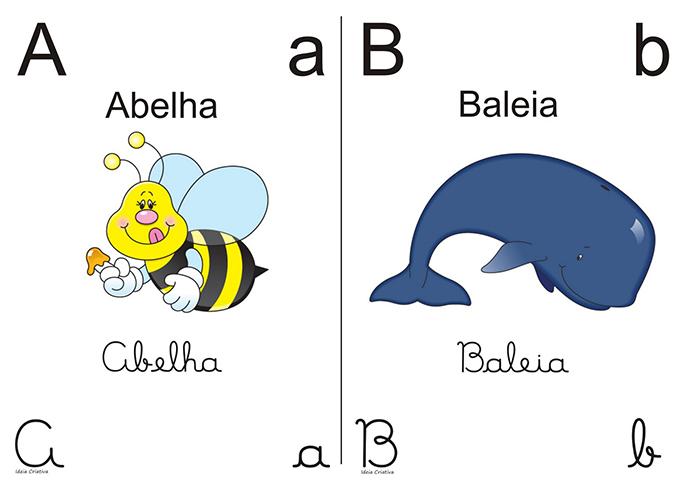 alfabeto crianças