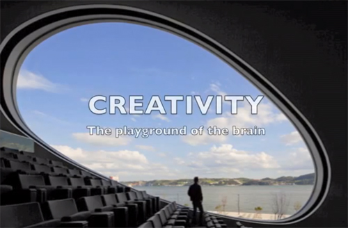 Creativity: The Playground of the Brain